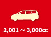 2,001~3,000cc